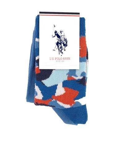 U.S. Polo Assn. Çorap Mavi